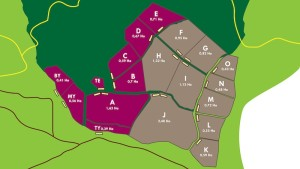 Plan des enclos à Samboja Lestari
